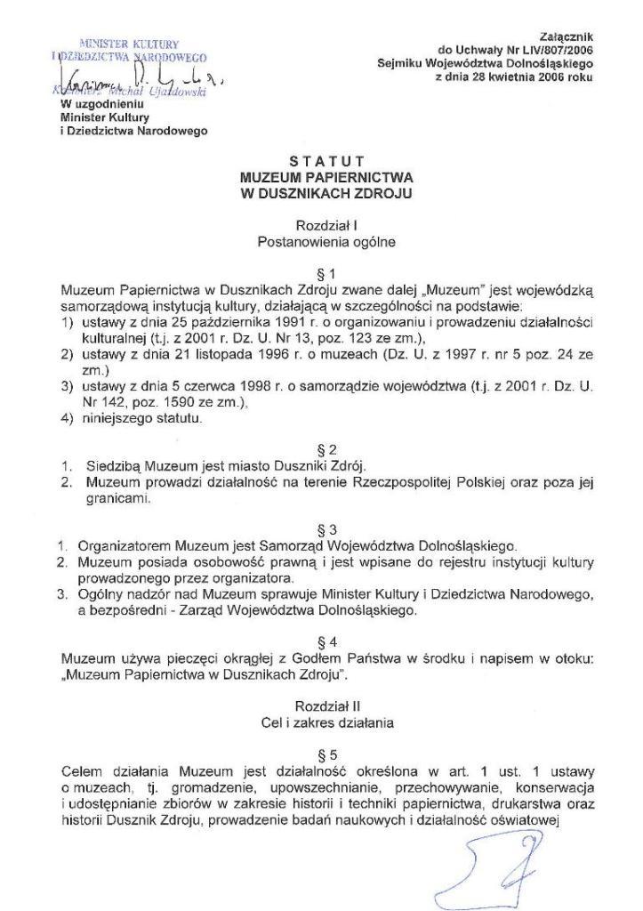 statut -str. 1