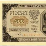 39 - 140dd 500 zł 1948
