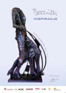 plakat wystawa Beksiński inspiracje plakat 72dpi