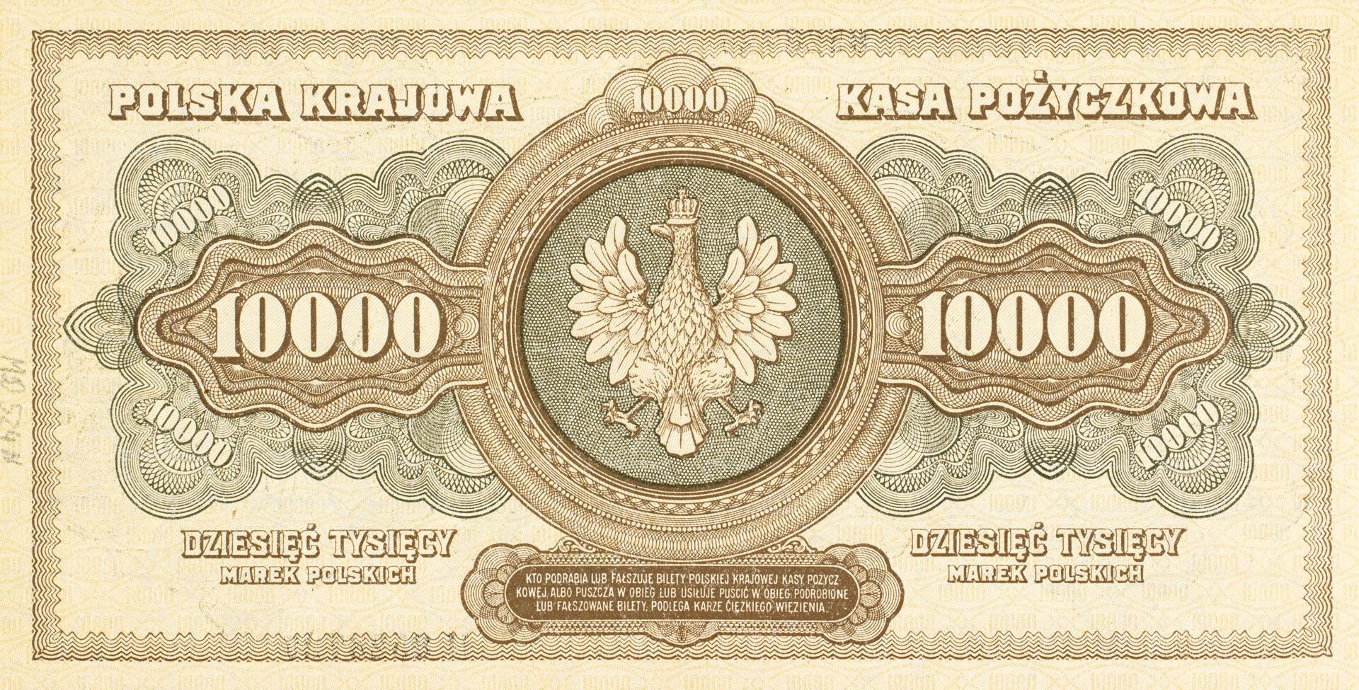 Banknot 10000 marek polskich