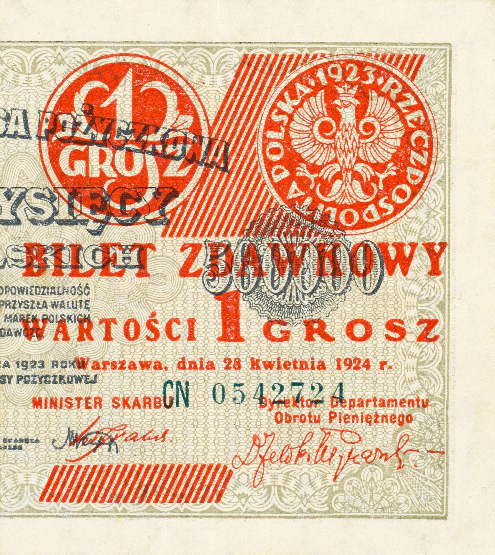 Banknot 1 grosz