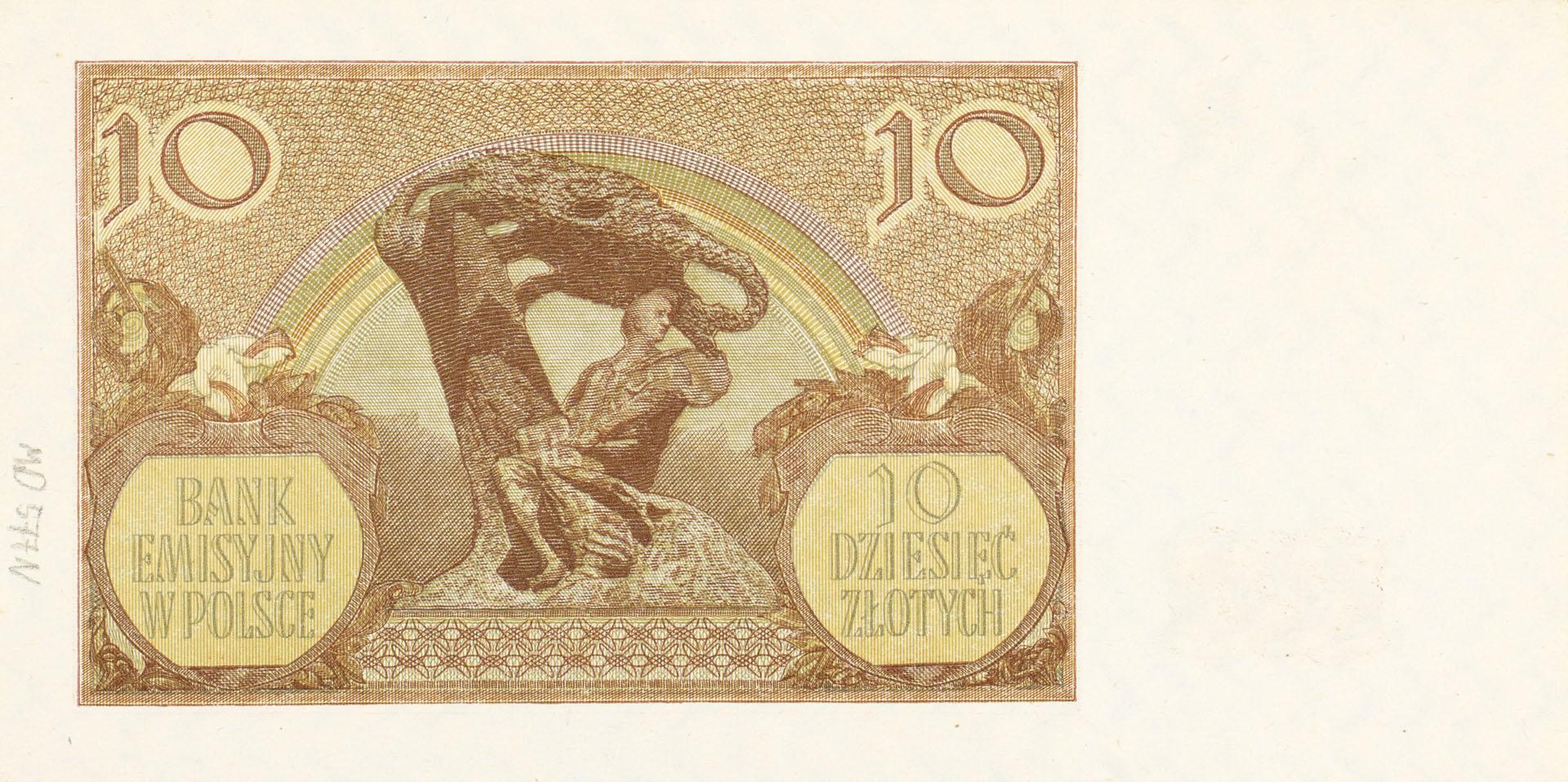 Banknot 10 złotych