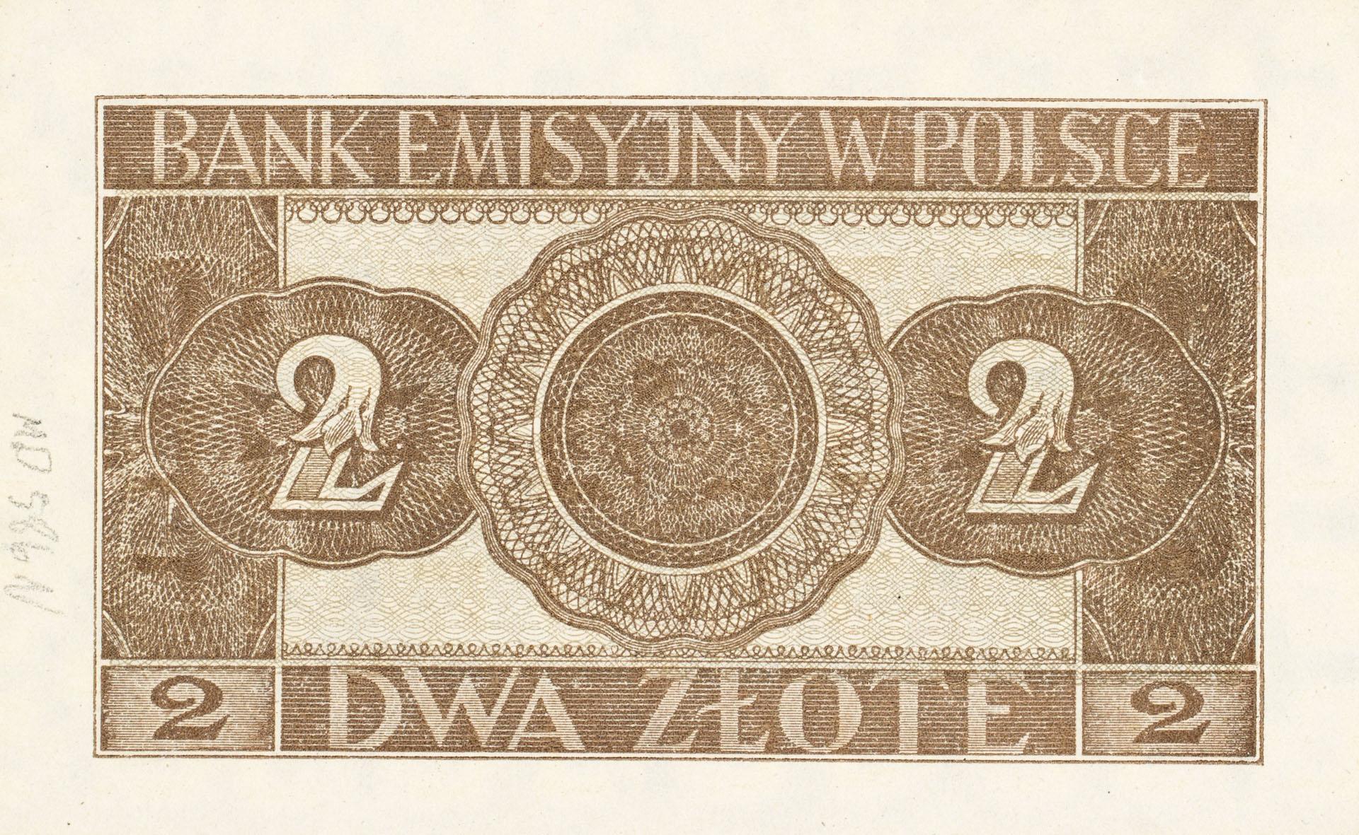 Banknot 2 złote