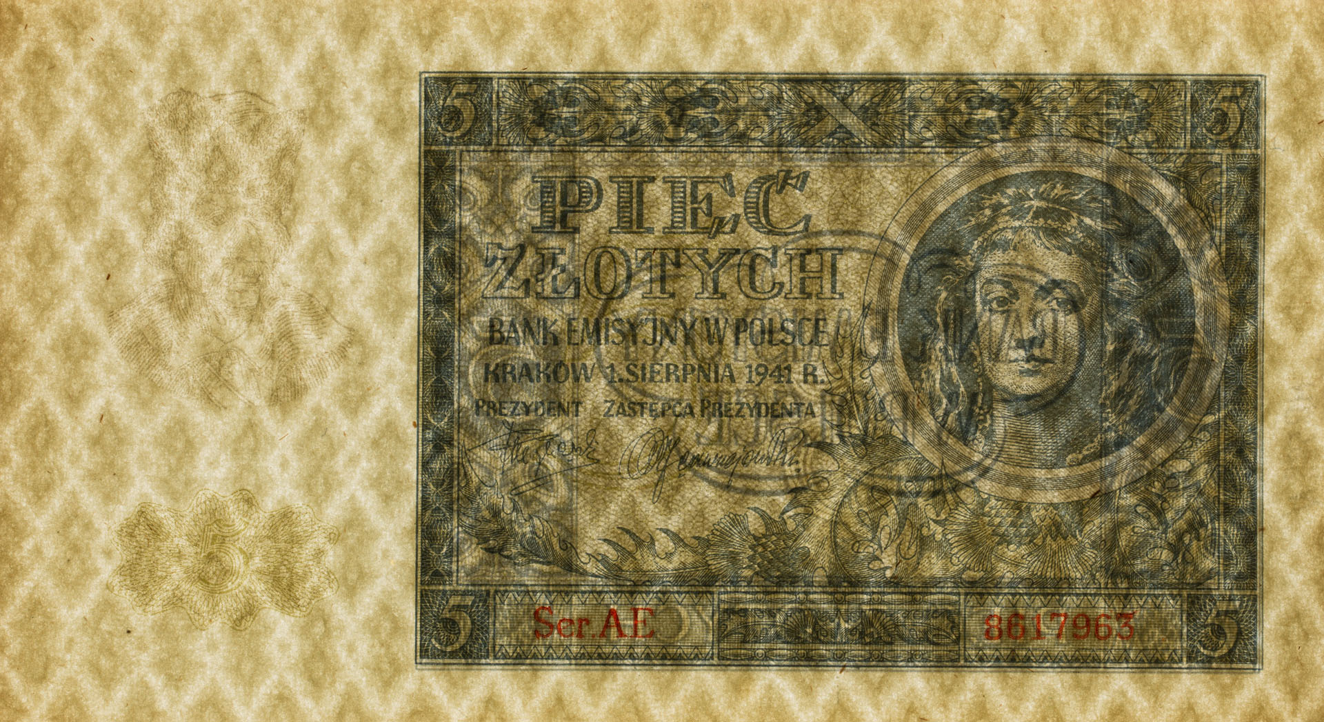 Banknot 5 złotych